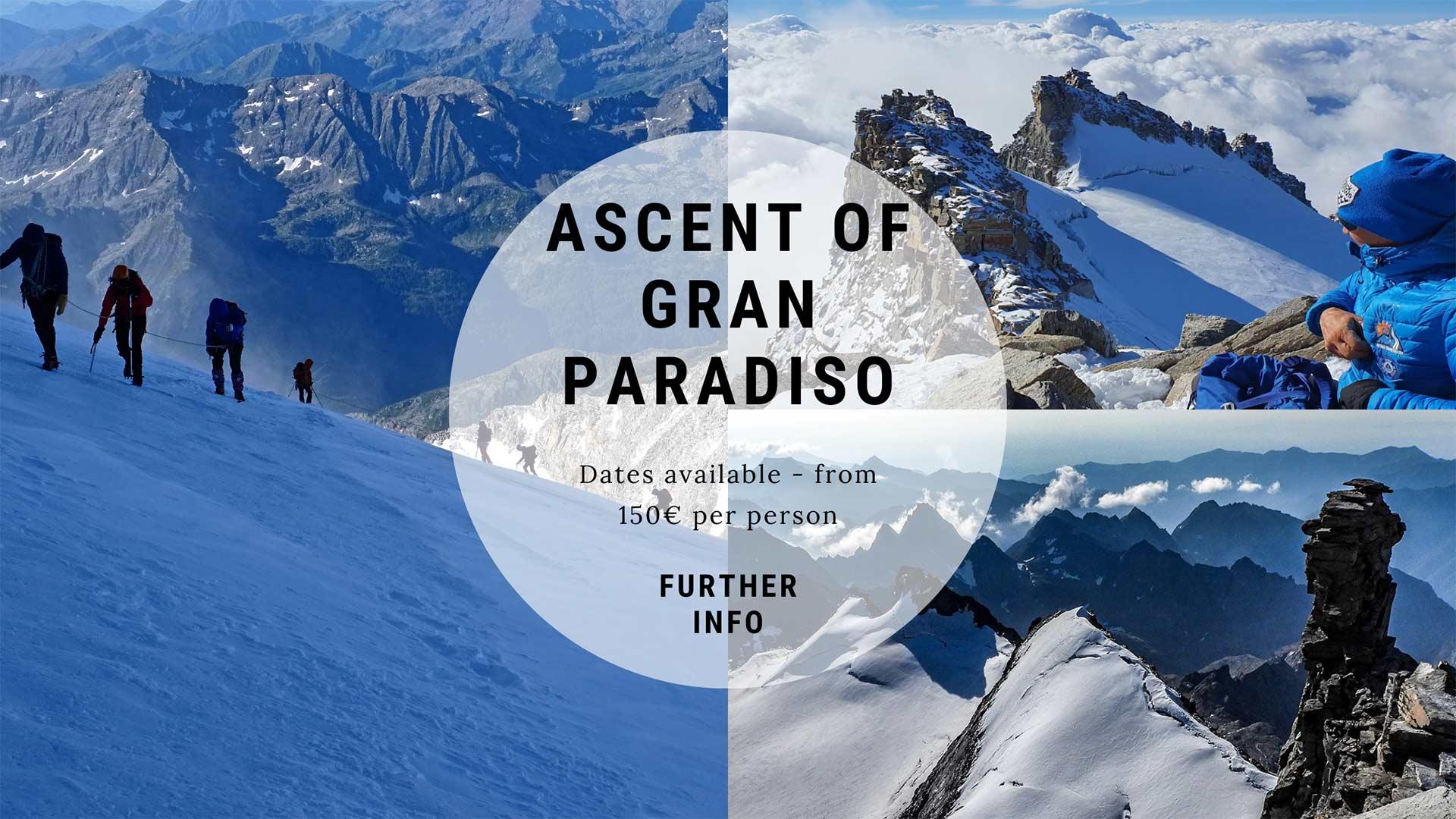 ascesa gran paradiso